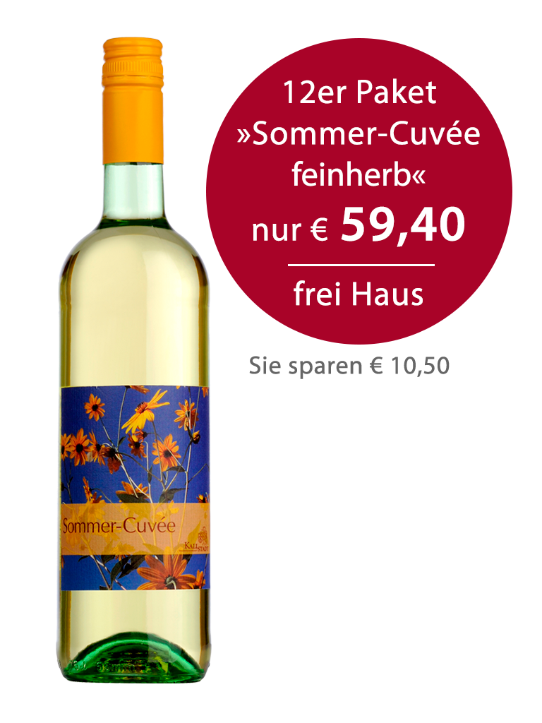 12er Paket<br>»Sommer-Cuvée feinherb«