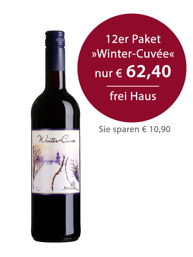 12er Paket<br>»Winter-Cuvée feinherb«