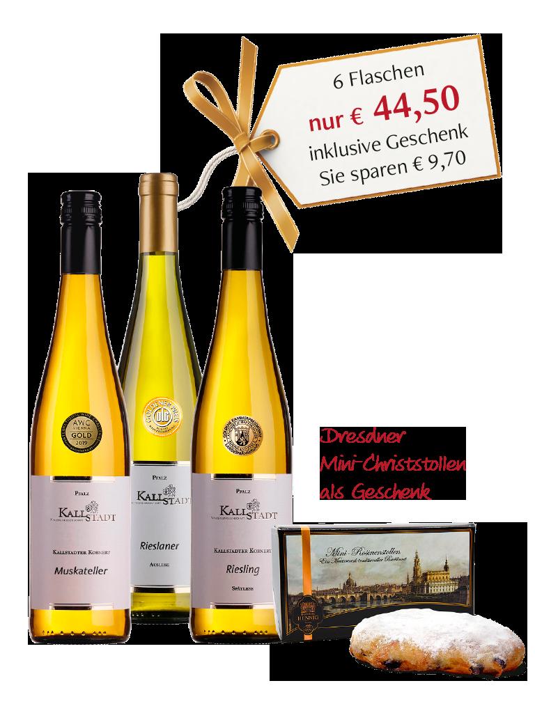 "»Das ""süße"" Goldpaket 2019«<br>inklusive Geschenk"