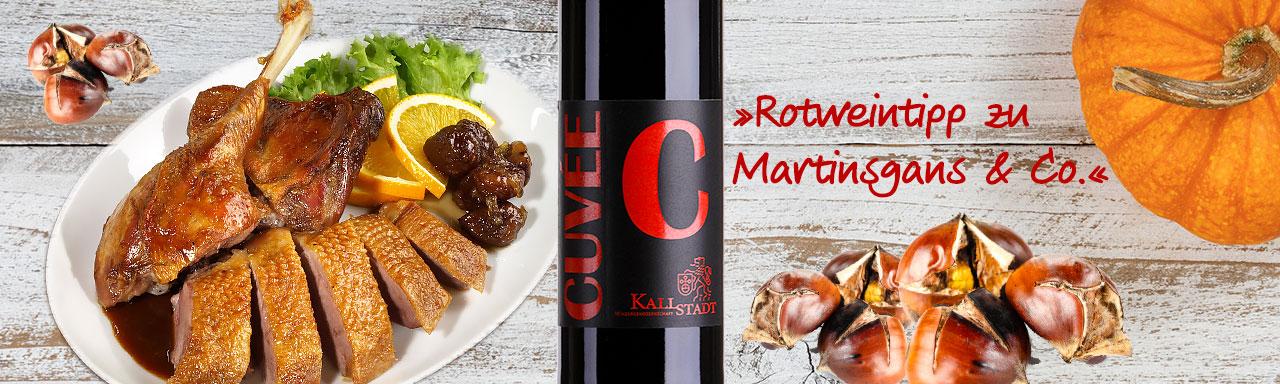 Rotweintipp zu Martinsgans & Co.