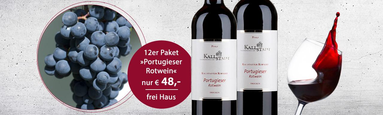 Party-Weintipp: Portugieser Rotwein