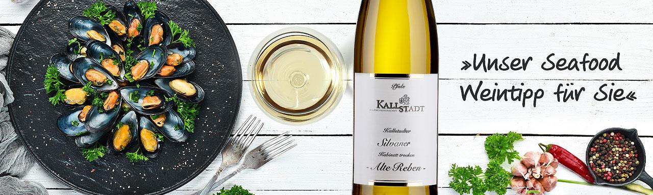 """Seafood-Weintipp: Silvaner """"Alte Reben"""""""